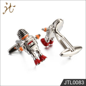 Fashion Nice Quality Robot Design Jewelry Cuff Links for Gift pictures & photos