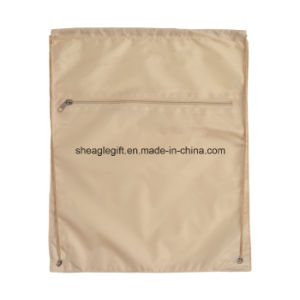 Polyester Economical Sport Drawstring Bag Cinch Pack pictures & photos