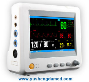 7.0 Inch Hospital ICU Ccu Multi-Parameter Patient Monitor pictures & photos