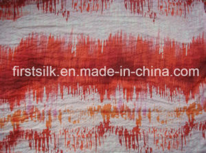 100%Polyester Crinkle Chiffion Fabric pictures & photos