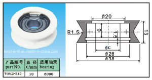 Ceramic Wire Guide Roller/Pulley/Groove Ceramic Pulley pictures & photos