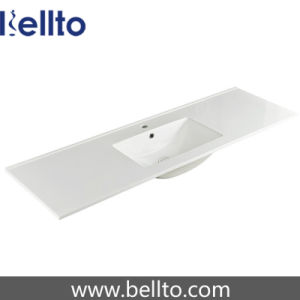 Thin Edge Cabinet Basin for Bathroom Sanitary Ware (9150E) pictures & photos