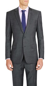 OEM Wholesales Italian Cool Slim Suit in Charcoal pictures & photos