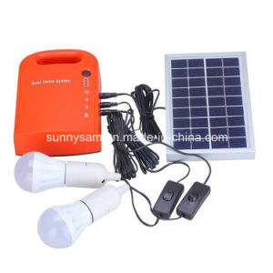 Solar Energy System Price for Home Security outdoor Camping Lighting pictures & photos