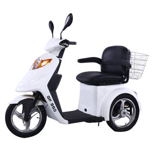 800W Three Wheel Disabled Electric Mobility Tricycle for Elderly People