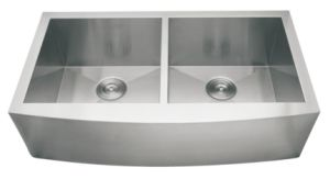 Stainless Steel Farm House Kitchen Sink, Apron Front Handmade Sink, Double Bowl- (D9153) pictures & photos