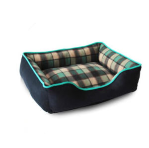 Suede Fabric with Pillow Removable Washable Cover Dog Bed pictures & photos
