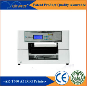 Industrial Digital Flatbed Printer Machine for T Shirt Ar-T500 pictures & photos