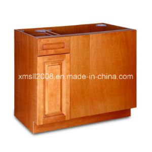 Wood Kitchen Buffet Cabinet Kitchen Furniture with CE (G-K02) pictures & photos