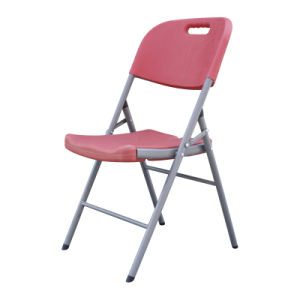 Colorful Metal Plastic Garden Folding Chair pictures & photos