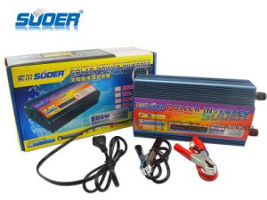 Suoer 600W Power Supply 12V DC to 230V AC Power Inverter (MDA-600C) pictures & photos