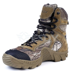 2017 Esdy Winter Sports Shoes Hiking Shoes Camo Military Boots pictures & photos
