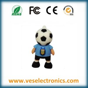 Fashion Designed Football Team USB Flash Drive Professional Item USB Stick pictures & photos