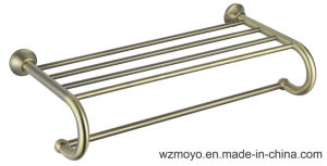 Bathroom Accessories Towel Shelf in Bronze Finish pictures & photos