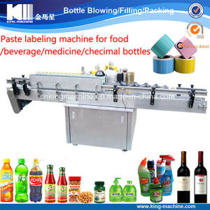 Wine Glass Bottle Sticker Labeling Machine pictures & photos