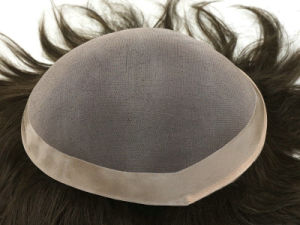 Men′s Toupee Human Hair Toupee pictures & photos