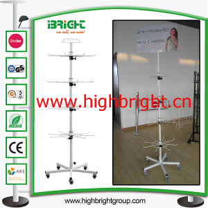Custom Made Revolving and Rotating Pegboard Spinner Display Stand pictures & photos