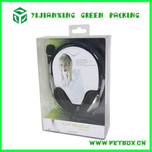 Plastic Pet Headset Printing Packaging Container Box