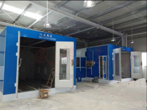 Spray Paint Booth with Infrared Lamp Heating System pictures & photos