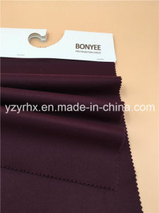 Finished Fabric Cotton / Spandex Stretch Deep Purple Twill Peach pictures & photos