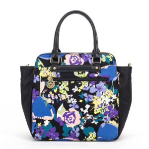Newest Women′s Fashionable Printing Cotton Tote Bag/Handbag (QF-150915) pictures & photos