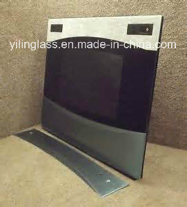 High Quality Hot Sale Tempered Printing Glass for Roaster Door pictures & photos