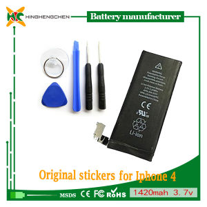 Mobile Phone Battery for iPhone 4 4s Li-ion Battery pictures & photos