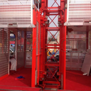 Single Cage and Double Cages 1t /2t Construction Elevator Lifter pictures & photos