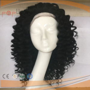 Deep Curly Full Human Remy Virgin Hair All Hand Tied Beautiful Wig pictures & photos