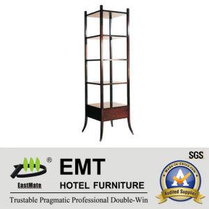 Strong Wooden Frane Multideck Cabinet Decorative Cabinet (EMT-DC09) pictures & photos