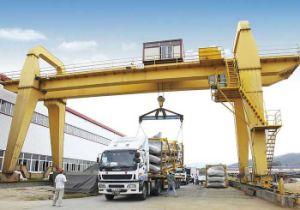 Low Cost 50-100 Ton Simple Truss Shipbuilding Gantry Crane pictures & photos