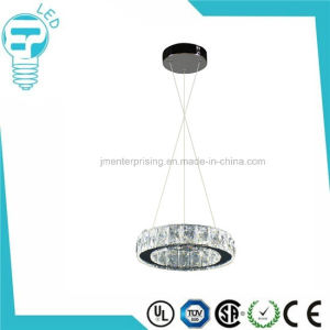 Home Decor New Ceiling LED Crystal Ring Pendant Light pictures & photos
