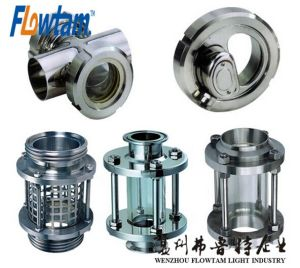 Sj Model Stainless Steel Sanitary LED Sight Glass pictures & photos