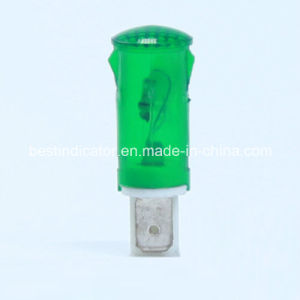 250VAC 0.3W Round Indicator Emergency Light pictures & photos