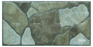 Porcelain Rustic Antique Exterior Stone Wall Tile (200X400mm) pictures & photos