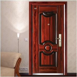 with High Quality Handles and Locks, Entrance Door, Steel Security Door. pictures & photos