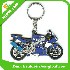 Custom 3D Motorcycle PVC Rubber Key Chains (SLF-KC023) pictures & photos