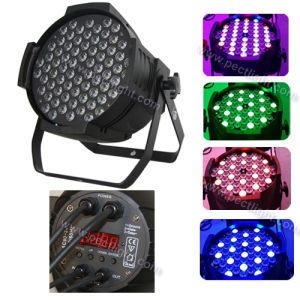 72*3W RGBW 4in1 LED PAR Stage Light pictures & photos
