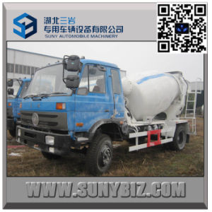 Dongfeng 3000 Litre Cummins Engine Cement Mixer Truck