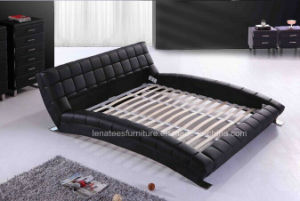 A059 Modern Leather Home Furniture Bed pictures & photos