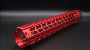 New Red / Black 15′′. 308 Ultralight Handguard Free Float Rail Mounting Systems pictures & photos