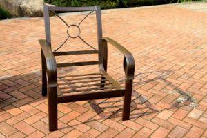 Comfortable Garden Stationary Sofa Chair Aluminum Furniture (NO cushion) pictures & photos