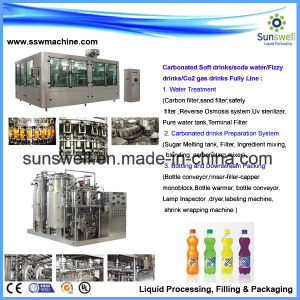 Carbonated Soft Drinks Flling Machine/Soft Drink Machine/Beverge Machine pictures & photos