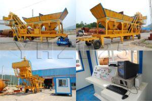Mobile Batching Plant, Portable Concrete Mixing Plant pictures & photos