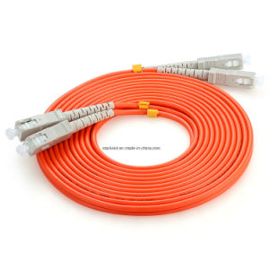 Fiber Patch Cord Multimode PC (2xSC-2xSC, 9/125) pictures & photos