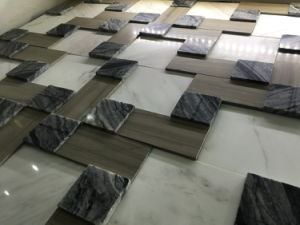 Nature Stone Mosaic for The Television Background Wall Tile (FYSSC120) pictures & photos