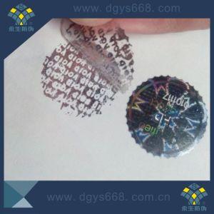 Void Qr Code Tamper Evident Laser Sticker pictures & photos
