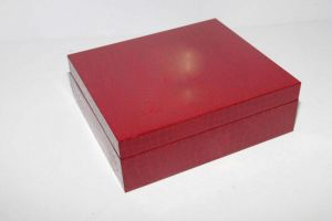 Luxury PU Leather Wooden Box pictures & photos