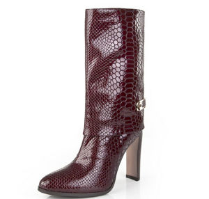 New Style Fashion Chunky Heel Martin Boots (HS17-054) pictures & photos