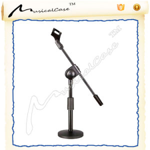 Single Hand Adjustalbe Table Microphone Stand pictures & photos